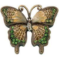 Peridot Butterfly Keepsake Urn