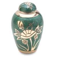 Emerald Rose Keepsake Urn