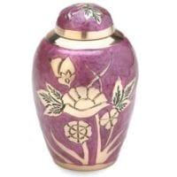 Lilac Rose Keepsake Urn