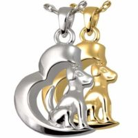 In My Heart Dog Cremation Jewelry