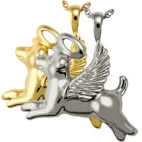 Our Angel Dog Cremation Pendant