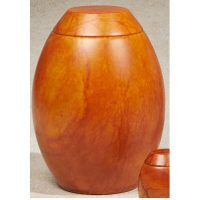 Harvest Moon Alabaster Urn