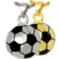 Soccer Ball Cremation Pendant