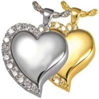 Heart Shines Cremation Pendant
