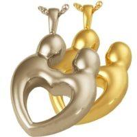 Together Forever Heart Urn Pendant
