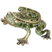 Fancy Frog Keepsake Urn