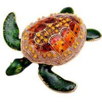 Orange Back Turtle Keepsake Urn