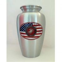 Marines American Flag Urn