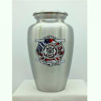 Firefighter Urn with Firefighter Credo