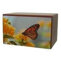 Monarch Butterfly Urn
