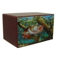 Fishing Dream Urn for Ashes