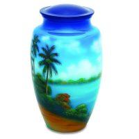 Tropical Breezes Beach Urn