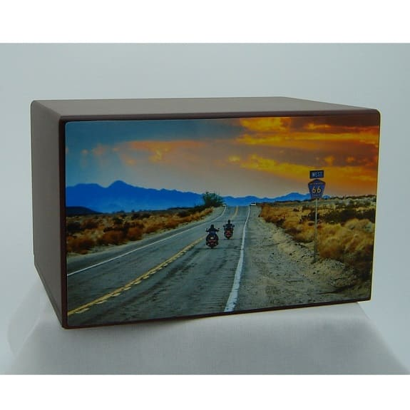 Motorcycle Riders for Eternity Urn