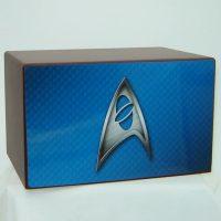 Blue Starfleet Insignia Urn