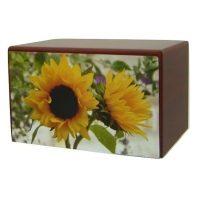 Sunflowers Urn