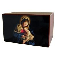 Mary and Baby Jesus Urn