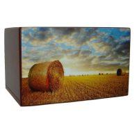 Golden Sunset Farm Urn