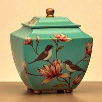 Magnolia Lovebirds Urn