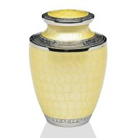 Eternity Yellow Urn for Ashes