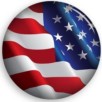MILITARY URNS FLAG