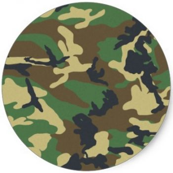 military urns camouflage