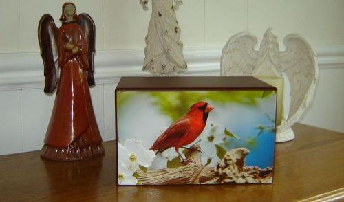 cardinal urn