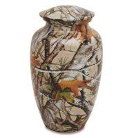 Oak and Birch Camouflage Urn