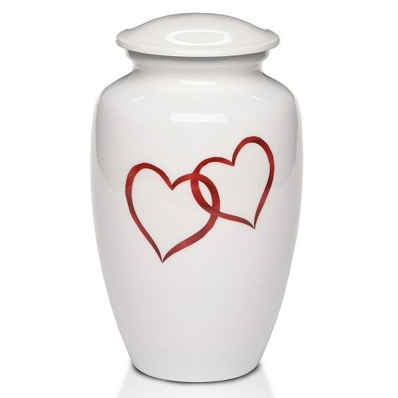 Connected by Love Heart Urn