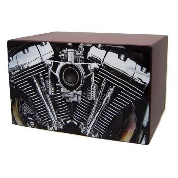 motorcycle urns