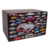 Ford Mustang Collage Urn