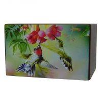 Busy Hummingbirds Urn