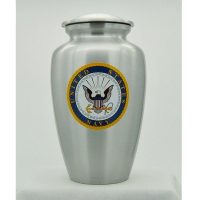 U.S. Navy Emblem Urn