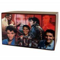 Elvis Color Collage Urn