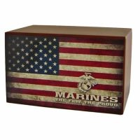 The Few The Proud Marines Urn
