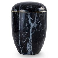 Solace Black Urn
