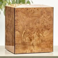 Burl Natural Urn for Two