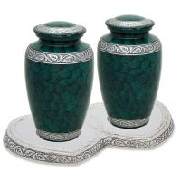 Green Urns for Two Set