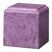 Large Purple Marble Urn