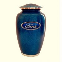 Ford Blue Urn for Ashes